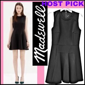 MADEWELL THE ANYWHERE FIT & FLARE DRESS Sz 2